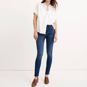 MADEWELL Roadtripper Orson Wash Skinny Jeans, 25